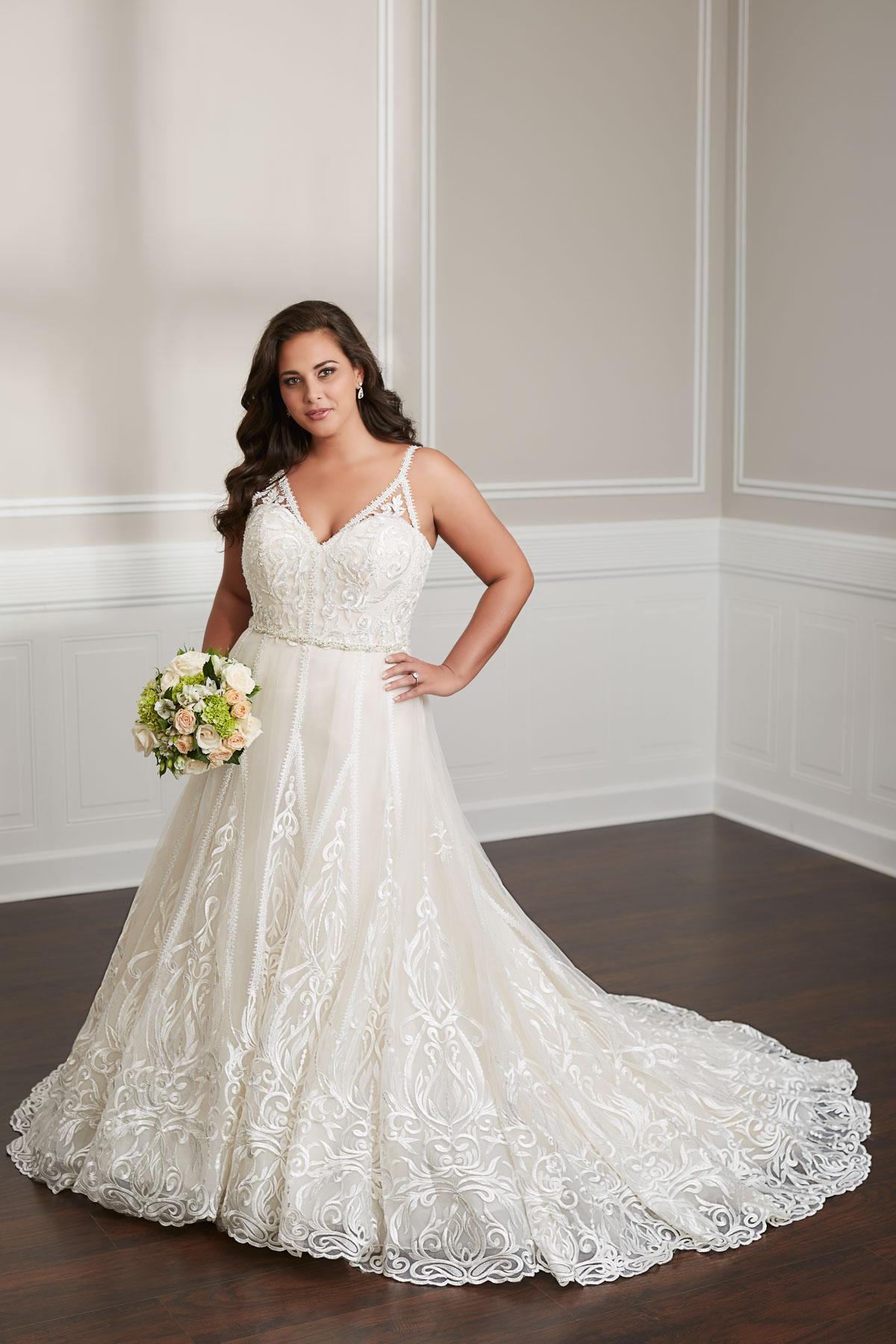 Brautkleider für mollige bilder